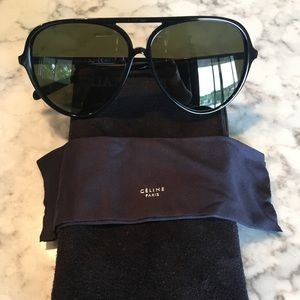 Women's Celine Aviator Sunglasses
